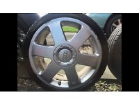 "Audi Ronal 17"" Genuine Alloy Wheels + Tyres 205x40x17"