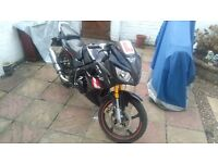 Lexmoto xtrs125 good condition everythig works back brake needs sorting