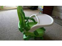Mothercare booster in green