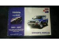 Toyota hilux surf owners manual