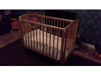 Wooden Cot for sale in good condition