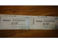Red hot chili peopers tickets