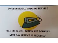 Professional ironing service