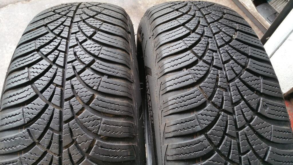 185 65 15 2 x tyres Goodyear UltraGrip 9