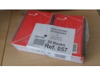 Pack with 24 A6 notebooks Silvine Brand New, unopened