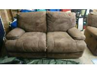 Sofa, Two Seater Electric Recliner.
