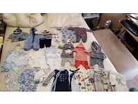 baby boy clothes newborn and upto 1 month from next and gap very good conditon some are brand new
