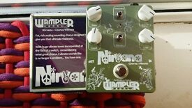 Wampler Nirvana Chorus Vibrato guitar pedal