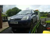 05 ford fiesta 1.4tdci *** BREAKING FOR PARTS
