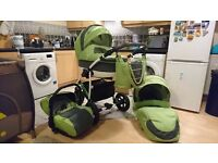 Pushchair 3 in 1. Very good condition. Free from smoke and pets