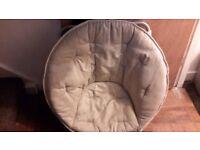 Childs round egg chair.