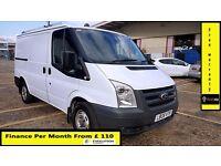Ford Transit Van 2.2 300-1 Owner Ex BT-FSH 10 Stamps-1YR MOT-92K Miles Only-Parking Sensors WARRANTY