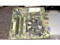 Motherboard DG33M03 With 2Gb Ram - 32 bit