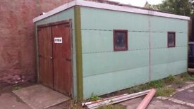 Lock up for sale. Metal clad insulated.