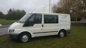 LHD DOUBLE CABIN FORD TRANSIT VAN LEFT HAND DRIVE