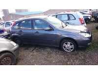2003 FORD FOCUS ZETEC, 1.6 PETROL, BREAKING FOR PARTS ONLY, POSTAGE AVAILABLE NATIONWIDE