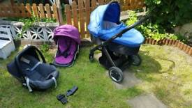 Oyster Pram, Pushchair, Carseat Travel System suitable from birth!