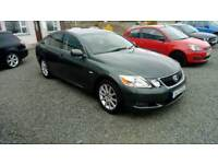 08 Lexus GS300 Auto Saloon Full Black Leather Trim SAT /NAV Can be seen anytime