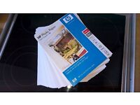 Hp glossy photo paper American letter size