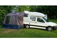 Roomy XL Drive away awning for VW/romahomes/vans