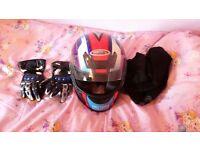 Apex crash helmet