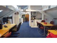 2 desks available now for £630.00 per desk per month