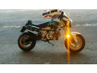supermoto road legal 125 pitbike