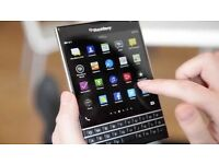 Blackberry Passport Unused 32GB with Cover