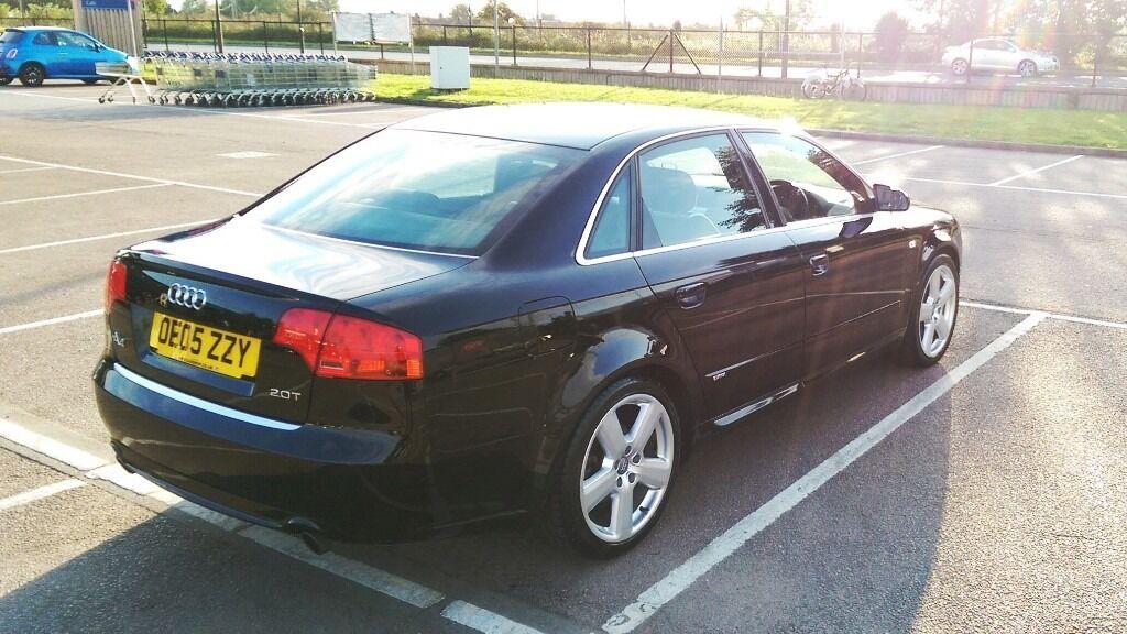 Audi A T FSI S Line Black URGENT SALE MAKE AN OFFER - Audi a4 2005 for sale