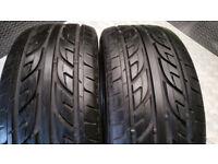 225 45 17 2 x tyres Arrowspeed N1000