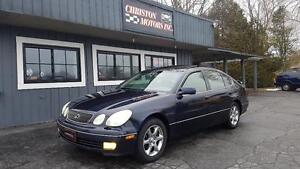 2002 Lexus GS300 CERTIFIED ETESTED  $2499+ taxes
