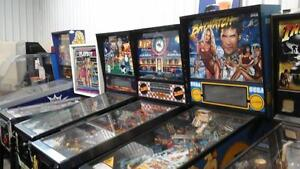 Pinball machines & Arcade Games & any coin operated machine Kingston Kingston Area image 1