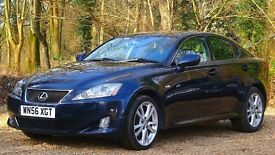 Lexus IS 220d 2.2 TD Sport 4dr FULL SERVICE HISTORY 2006 (56 reg), Saloon 74,000 miles Diesel