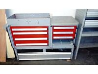 Vivaro, Transit, Van shelving, racking, tool box