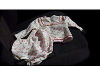 Vintage Baby girl dresses aged 0-6 months