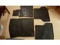 Genuine Audi A4 rubber mats