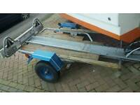 Motorbike motorcycle trailer