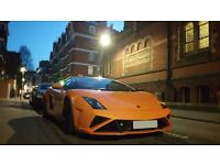 Chauffeur driven Lamborghini hire from £99 per hour | Lamborghini hire | wedding car hire |