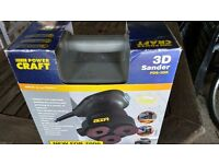 3D SANDER POWERCRAFT BOXED AND NEVER USED