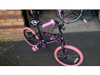 21'' frame Black Girls Hello Kitty Bicycle