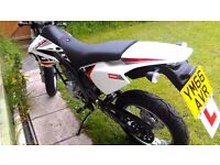 Derbi Senda 125 Super Moto Nearly New