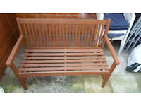 Wooden Garden Bench Windsor 2 seater 1.2m