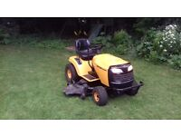 "Bernard loisirs ( husqvarna ) ride on mower gwo serviced, 48"" 18hp"