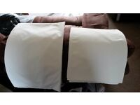"Used, great condition thermal linings from Dunelm Mill in ivory - 2 sizes available, 72"" or 90"" drop"