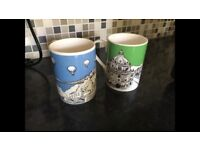 Emmeline Simpson Fine Bone China Mugs (Bristol and London)