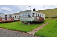 2000 Cosalt Capri Super sited on a Prime Panoramic Pitch at Blackadder Holiday Park, Greenlaw