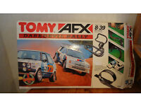 Tomy AFX electric rally car set