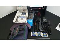 Panasonic NV-DS15B Camcorder with many extras - £100