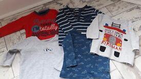 Baby boy 3-6 months clothes bundle