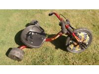 DRIFT/SKID BIKE/TRIKE, KIDS, Urban X, GOOD CONDITION
